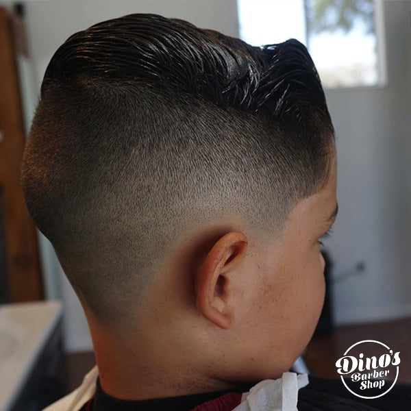Dino's Barbershop Kids Haircut