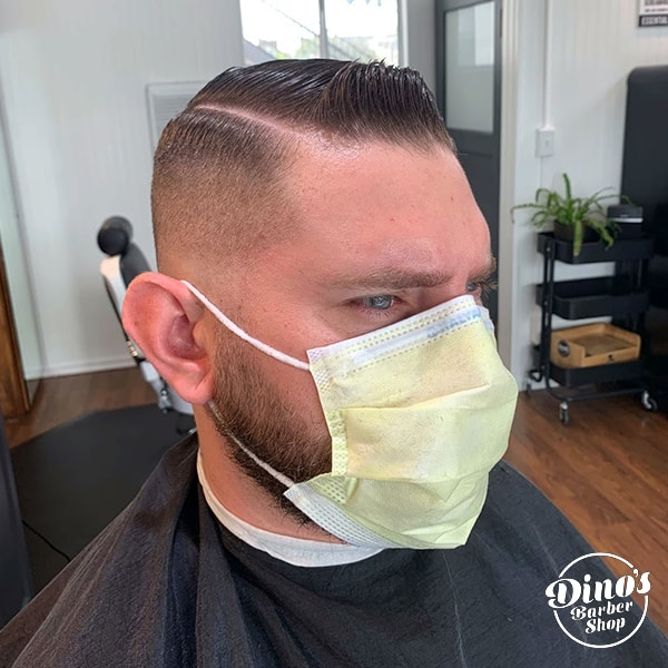 Dino's Barbershop Haircut